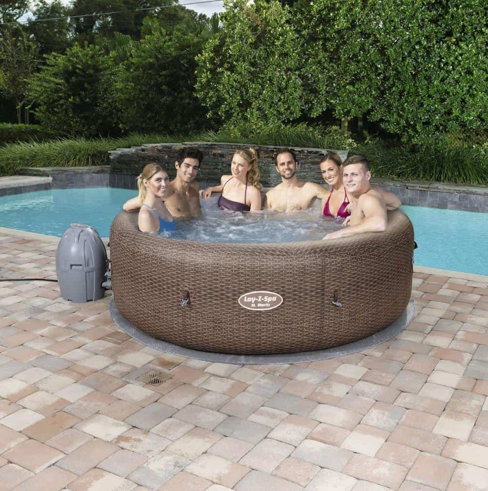 Inflatable Portable Spa Hot Tub