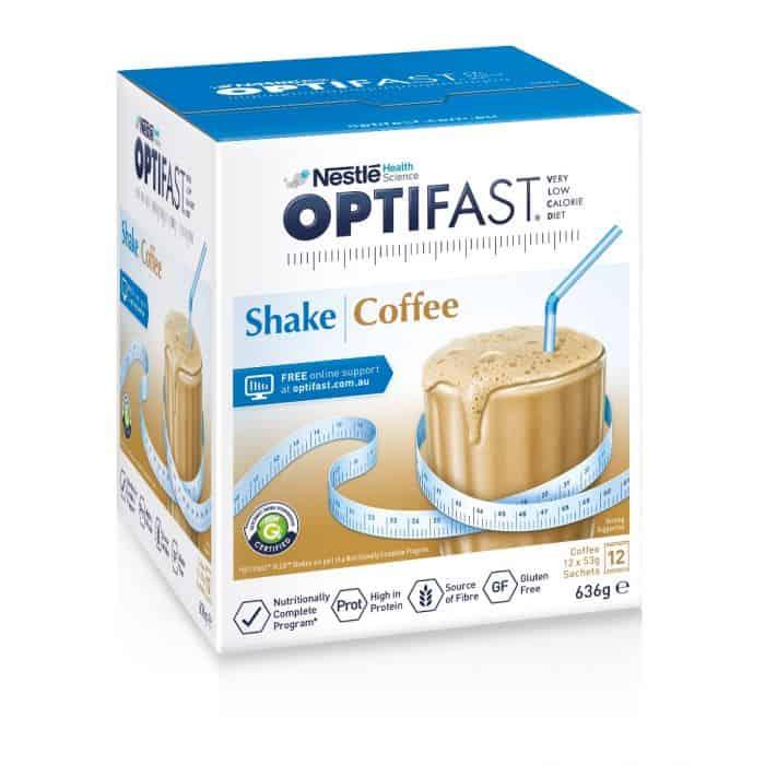 Optifast milk shake